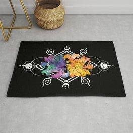 Cosmic Kitsune Rug