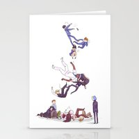 durarara Stationery Cards featuring trust me not by rhymewithrachel