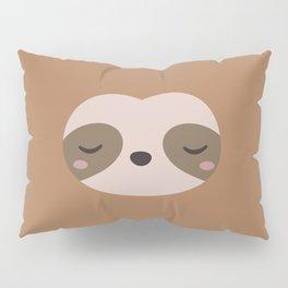 Kawaii Cute Sloth Pillow Sham