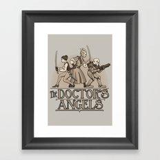 The Doctor's Angels Framed Art Print