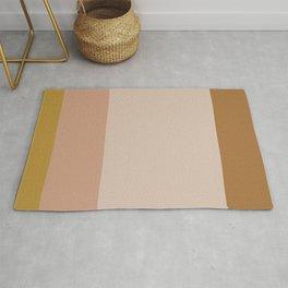 Contemporary Color Block X Rug
