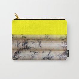 Greek Yellow Marble Carry-All Pouch