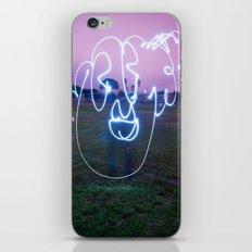 Bloopy W/JMR1 iPhone & iPod Skin