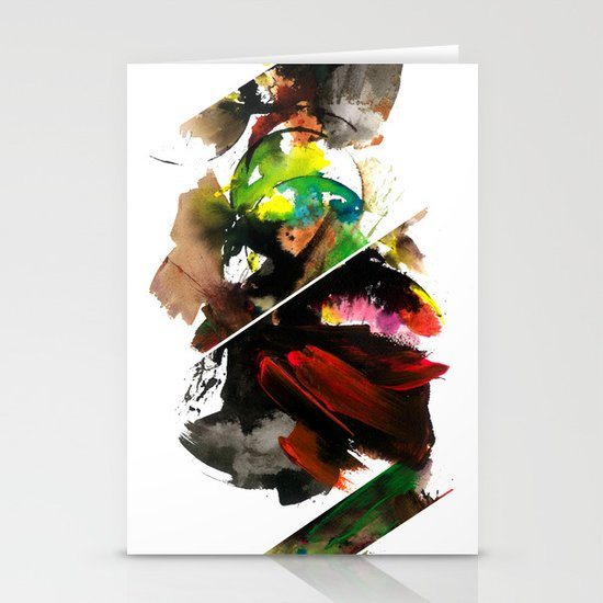 color study 1 Stationery Cards