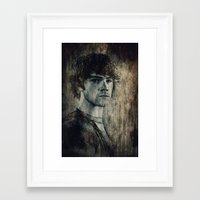 winchester Framed Art Prints featuring Sam Winchester by Sirenphotos