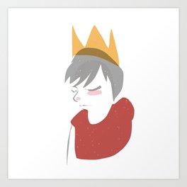 Princey Charmer Art Print