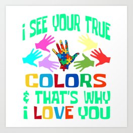 6952ff1159e Autism Awareness Art Prints | Society6