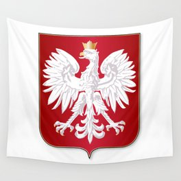 Polish Crest Wall Tapestry