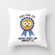 Boast Likely to Succeed Throw Pillow