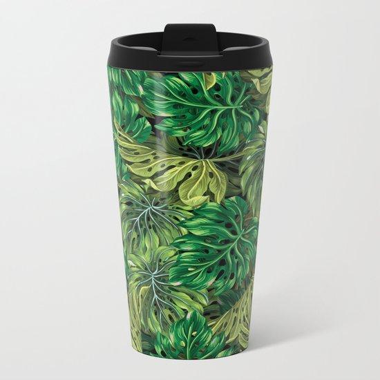 tropical haven 2 Metal Travel Mug