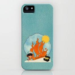 Surfer Sailor Boy Beach Pirate iPhone Case
