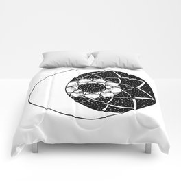 Crescent Moon Mandala Comforters