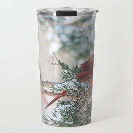 Remembering.... (Northern Cardinals) Travel Mug