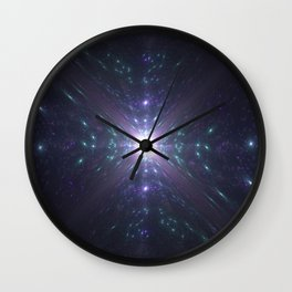 Looking at the Universe Through a Diamond Wall Clock