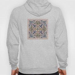 Blue Oriental Tile 01 Hoody