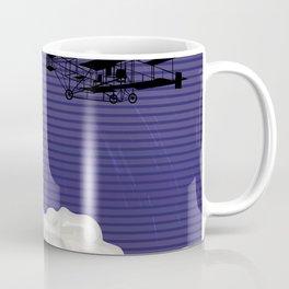 Plane and time Coffee Mug