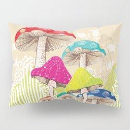 Magical Mushrooms Pillow Sham