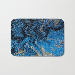 Digital abstract Bath Mat