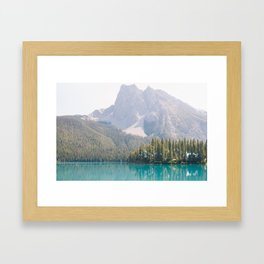 Emerald Lake Framed Art Print