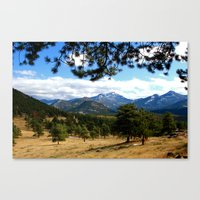 colorado Canvas Prints featuring Colorado  by Shelby Babbert Photography