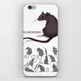 Feeling Ratty iPhone Skin