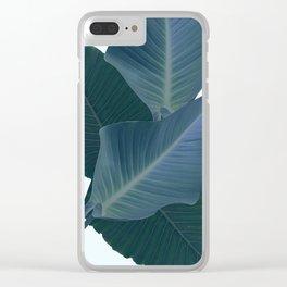 Palm Breeze Clear iPhone Case