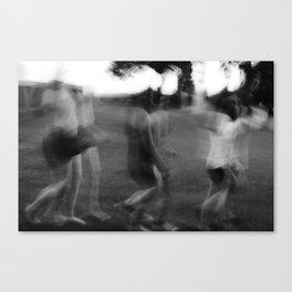 Walk.  Canvas Print