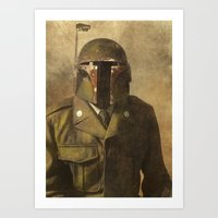 general Art Prints featuring General Fettson   by Terry Fan