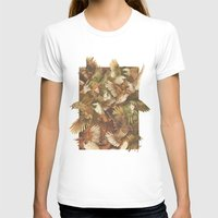 tree T-shirts featuring Red-Throated, Black-capped, Spotted, Barred by Teagan White