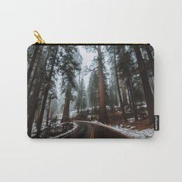 Foggy Forest Wanderlust Carry-All Pouch