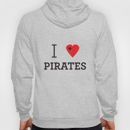 I heart Pirates Hoody