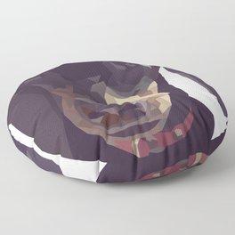 Geometric Sausage Dog Digitally Created Floor Pillow