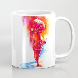 little girl with little heart Coffee Mug