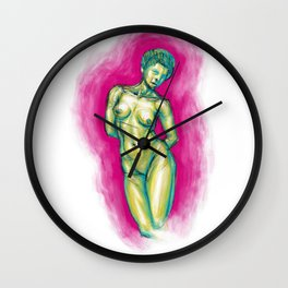 La Femme Waikiki Wall Clock
