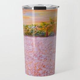 Cotton at Sunset Travel Mug