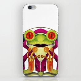 Music Frog iPhone Skin