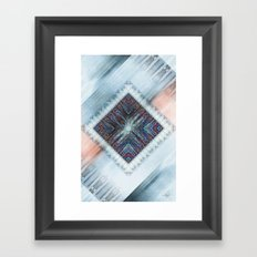 Messy Pattern I Framed Art Print