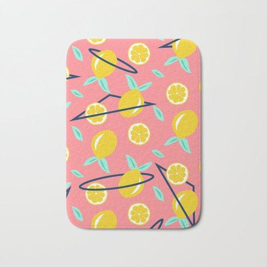 Lemons Party Society6 Decor Buyart Bath Mat By Designdn
