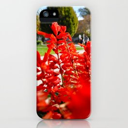 Red for Days. iPhone Case
