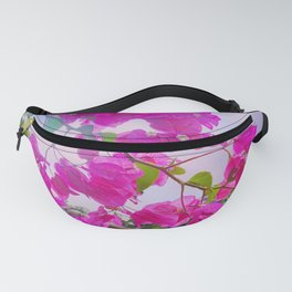 Pink Bougainville Fanny Pack