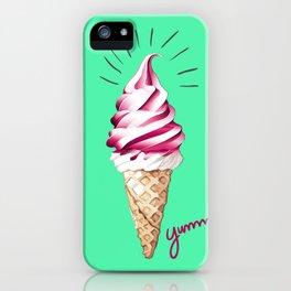 Yummy Ice Cream | Digital Art iPhone Case