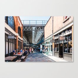 Old Spitalfields Market in London II Canvas Print