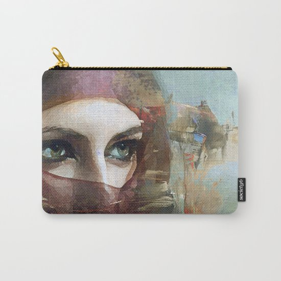 Queen of the desert Carry-All Pouch