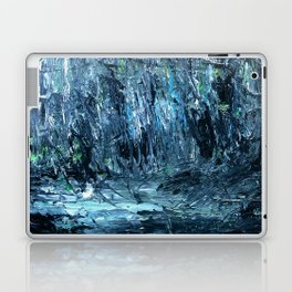 A Clearing Through The Swamp Acrylics On Stretched Canvas  Laptop & iPad Skin