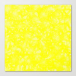 Yellow Abstract Canvas Print