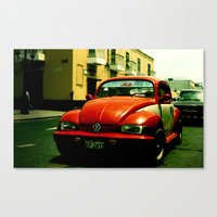 beetle Canvas Prints featuring Beetle by very giorgious