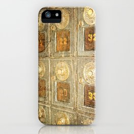 Vintage Post Office Boxes iPhone Case