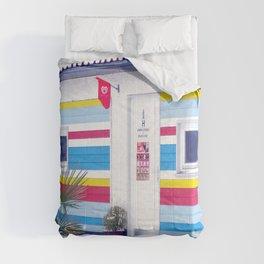 On the beach Comforters
