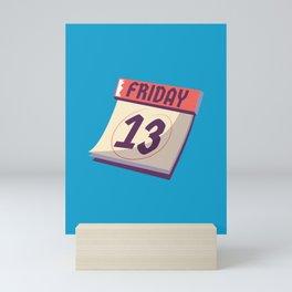 Friday the 13th Mini Art Print