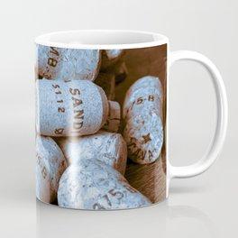 BLUE CHAMPAGNE CORK Coffee Mug